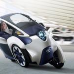 TOYOTA i-ROADかっこよす!!! 日本の自動車産業はまだまだ世界一だっ!!