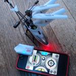 スマホで操縦のヘリでGWを遊ぶ。次はカメラ付きタンクか?!