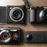 4台のコンパクトカメラを持ち歩く私がインスタ用コンデジを語ります