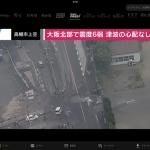 大阪の震度6弱の地震を機会に再度いろいろ見直そう
